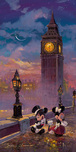 James Coleman Prints James Coleman Prints Mickey and Minnie in London (Deluxe)