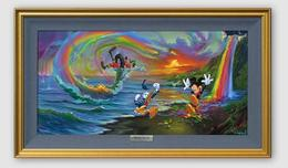 Jim Warren Fine Art Jim Warren Fine Art Mickey and the Boys at Rainbow Falls