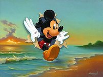 Jim Warren Fine Art Jim Warren Fine Art Mickey's Grand Entrance