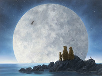Robert Bissell Art Robert Bissell Art Moonlighters II - (AP) Hand-Enhanced