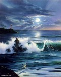 Jim Warren Fine Art Jim Warren Fine Art Moonlit Romance