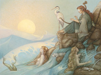 Michael Parkes Art Michael Parkes Art Morning Song (Large)