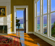 Edward Gordon Edward Gordon Music Room II (Framed)