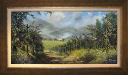 Artist James Coleman Artist James Coleman Napa Vineyard (20x40)