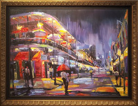 Michael Flohr Art Michael Flohr Art N.O.L.A. (Framed)