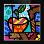Romero Britto Art Romero Britto Art NY Apple