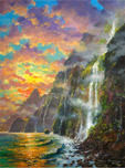 James Coleman Prints James Coleman Prints Napali Sunset (SN) (Large)