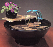 Nayer Kazemi - Water Art Nayer Kazemi - Water Art Nature Bowl #103 Fountain