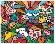 Romero Britto Art Romero Britto Art Nature In Harmony