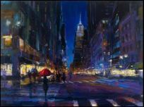 Michael Flohr Art Michael Flohr Art New York City Rain