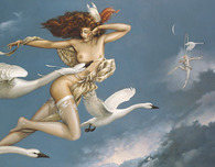Michael Parkes Art Michael Parkes Art Night Flight (Deluxe)