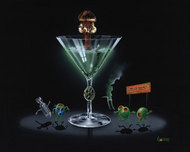 Michael Godard Art & Prints Michael Godard Art & Prints Nuclear Martini (17.5 x 22)