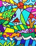 Romero Britto Art Romero Britto Art On the Hill (SN)