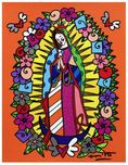 Romero Britto Art Romero Britto Art Our Lady