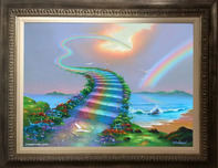 Jim Warren Fine Art Jim Warren Fine Art Over The Rainbow- Framed