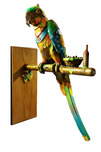 Nano Lopez Sculpture Nano Lopez Sculpture Papa Gallo - Macaw Parrot