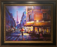 Michael Flohr Art Michael Flohr Art Parisian Rain