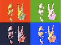 Ringo Starr Ringo Starr Peace and Love 2015 (Gallery Wrapped)