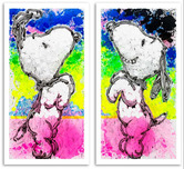 Tom Everhart Prints Tom Everhart Prints Performance Art Suite (2 Pieces)