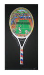 Charles Fazzino Art Charles Fazzino Art Point, Game, Set, Match! (PR)