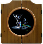 Michael Godard Art & Prints Michael Godard Art & Prints Dart Cabinet - Pool Shark