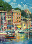 Artist James Coleman Artist James Coleman Portofino Reflections