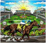 Charles Fazzino Art Charles Fazzino Art Portrait of a Champion (DX)