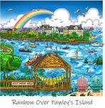 Charles Fazzino Art Charles Fazzino Art The South Carolina Series: Rainbow Over Pawley's Island (DX)