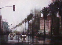Aldo Luongo Aldo Luongo Rainy Day on Wilshire Blvd.