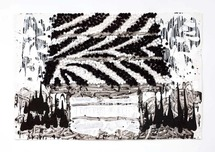 Tom Everhart Prints Tom Everhart Prints Raise the Roof - Faux Zebra - Original (Framed)