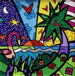 Romero Britto Art Romero Britto Art Real (SN)