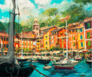 James Coleman Prints James Coleman Prints Reflections in Portofino (SN)