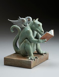 Michael Parkes Art Michael Parkes Art Rex Libris (Green)
