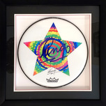 Ringo Starr Ringo Starr Drum Head - Starr Art (Framed)
