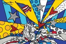 Romero Britto Art Romero Britto Art Rising (SN)