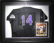50% Off Schimmel, Bylerey & More 50% Off Schimmel, Bylerey & More Colorado Rockies Signed Jersey - Framed