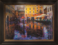 Michael Flohr Art Michael Flohr Art Romance in The Rain
