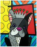 Romero Britto Art Romero Britto Art Royalty (Gallery Wrapped)