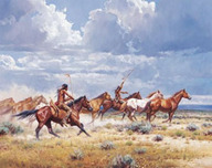 Martin Grelle Martin Grelle Running With the Elk-Dogs (Grande Edition)