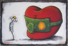 Fabio Napoleoni Fabio Napoleoni Better Days Ahead (SN) - Framed