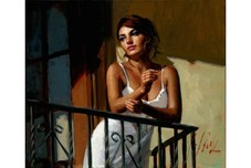 Fabian Perez Fabian Perez Saba at the Balcony VII