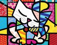 Romero Britto Art Romero Britto Art Sam (SN)