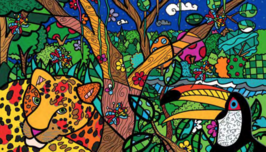 Romero Britto Art Romero Britto Art Night (SN)