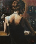 Fabian Perez Fabian Perez Senorita With Red Hair II