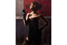 Fabian Perez Fabian Perez A Sensual Touch in the Dark II