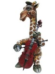 Carlos and Albert Carlos and Albert Giraffe the Cellist