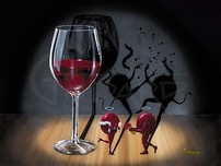 Godard Wine Art Godard Wine Art Shadows of Passion (AP)