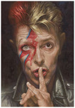 Sebastian Kruger Art Sebastian Kruger Art Shh... (David Bowie)