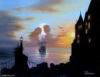 Jim Warren Fine Art Jim Warren Fine Art Ship Of Romance