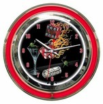 Michael Godard Art & Prints Michael Godard Art & Prints Neon Clock - Shoot the Wad